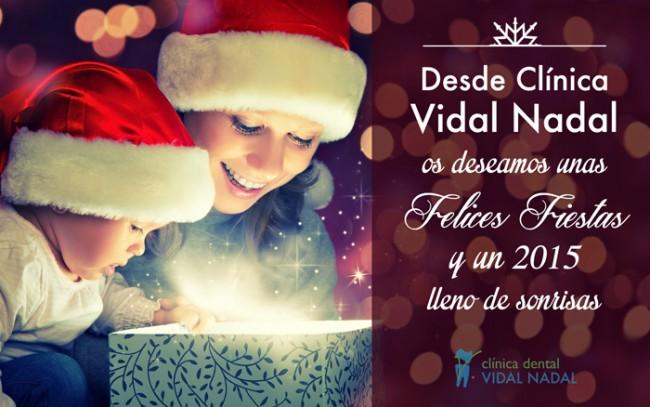 felicitacion navidad clínica dental vidal nadal en sevilla