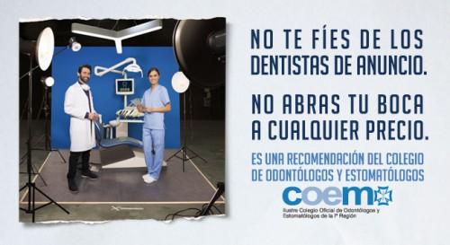 dentistas de anuncio
