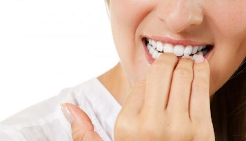 Morderse Las Uñas Problemas Dentales Uñas